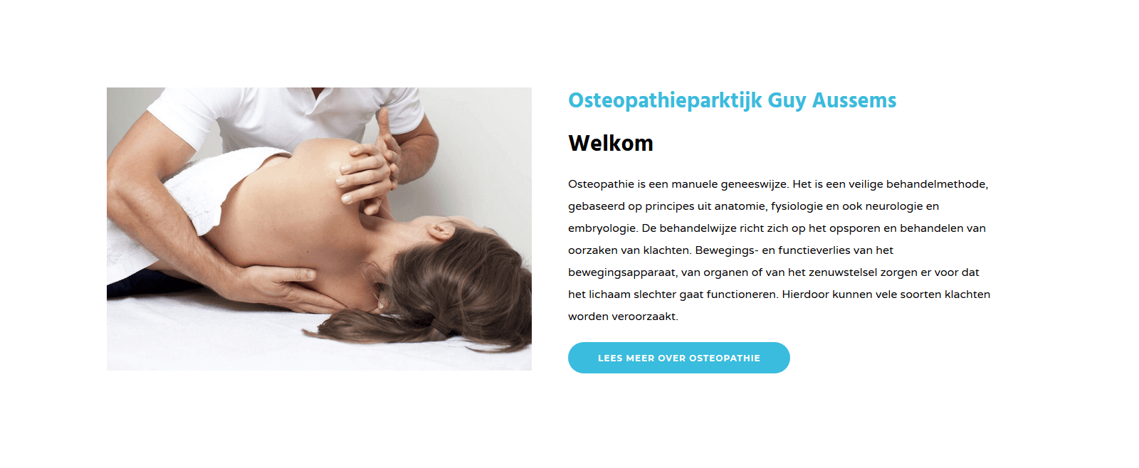 Nieuwe website Guy Aussems.